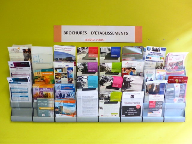 Brochures établissements