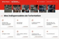 Site Oriane - Page accueil