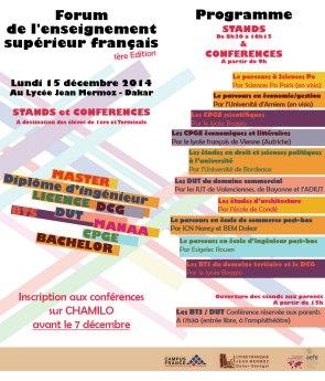 Prog. Forum de l'enseignement sup. fr.